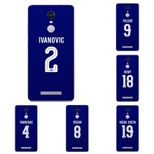 For Xiaomi Redmi 3 Note 4 Pro Phone Case Mi 4 4i 4c 4s 5 Max Note 2 Shell Transparent Cover Chelsea Football Club Pattern Skin