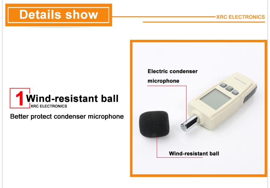 Sound level meters detail description 05