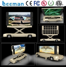 Leeman P4 Mobile advertising hd xxx hot video P5mm trailer/vehicle/car/truck mobile outdoor full
