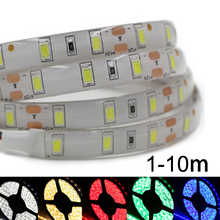 DC12V 5630 5730 SMD led strip light flexible Fita Diode tape lamp non/ip65 Waterproof 60led/M string bulb lamp 1m 2m 3m 5m 10m