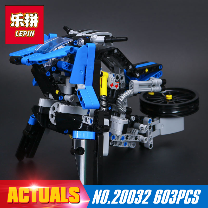 New Lepin 20032 603pcs Technic Series The car Off-road Motorcycles R1200 GS Building Blocks Bricks Educational Toys with 42063<br>