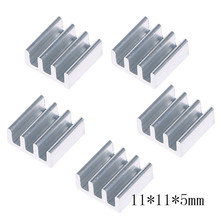 4 Size Silver Cooler High Quality Aluminum Heat Sink for LED Power Memory Chip IC DIY, Chipset Heatsink