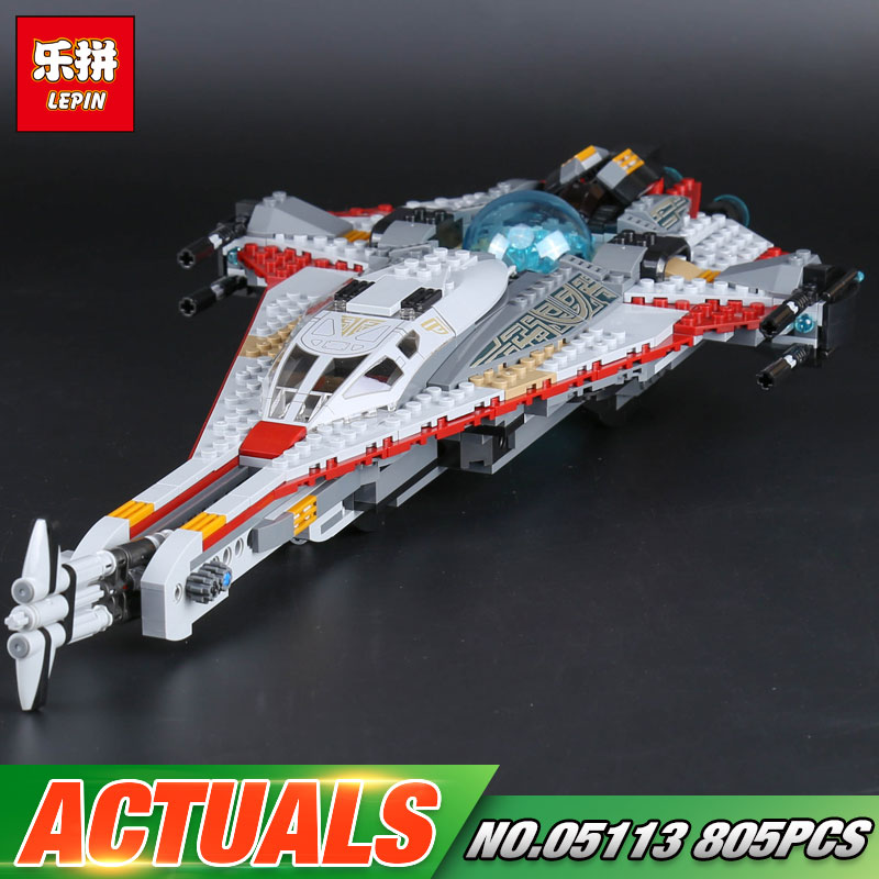 Lepin 05113 Star Series War 800Pcs Genuine The Arrowhead Set Children Building Blocks Bricks Educational Toys Model Gifts 75186<br>
