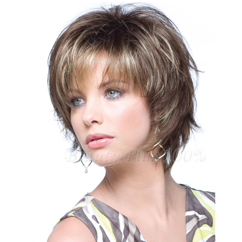 New 2017 Short Blonde Wig Synthetic High Temperature Wire Hair Wigs For Women Cosplay Wigs  Free Shipping<br><br>Aliexpress