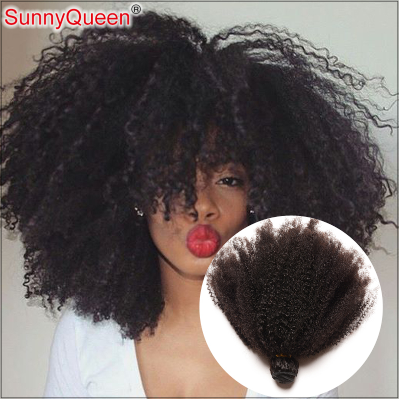 7A Peruvian Virgin Hair Afro Kinky Curly Hair Unprocessed  4Pcs 55g Peruvian Kinky Curly Virgin Hair Weave Bundles 8-20inch<br><br>Aliexpress