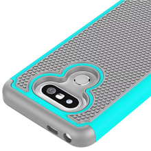 Armor Cases Football Pattern Dual Layer 2 In 1 Combo Cover For LG G5 Shockproof Silicone Case Plastic Shell For LG G5 Phone Case