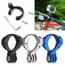 Bicycle Bike Aluminum Handlebar Bar Clamp Mount Gopro Hero 3+ 3 2 1 Camera