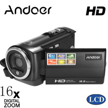 Andoer Mini Portable LCD Screen HD Digital Camera 16MP 16X Digital Zoom 720P 30FPS Anti-shake Video Recorder DV Camcorder DVR