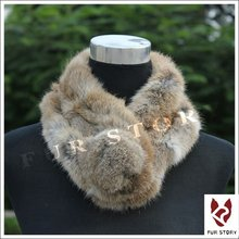 050106 Real rabbit fur scarf wrap cape shawl neck warmer 7colors Christmas gift on-sale