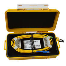 OTDR Dead Zone Eliminator,Fiber Rings ,Fiber Optic OTDR Launch Cable Box 1km SM 1310/1550nm(China)