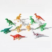 Dinosaurs PVC Vinyl Model Kit 12pcs/set in Park simulation wild animal toys tyrannosaurus Holiday gifts