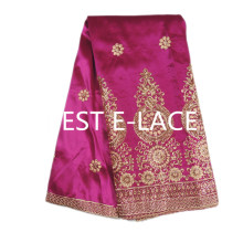 High quality Embroidery george fabric / African george wrappers/ african raw silk george lace fabric!Fast shipping