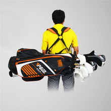 PGM Portable Golf Stand Bag Golf Bags with Stand 14 Sockets Multi Outdoor Sport Pockets Standard Bag with Shoulder Strap 90*28CM(China)