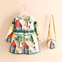 Girl Dress New Cute Kids Baby Girl Summer Spring Fall And Winter Come On Buy A Petticoat Send A Bag,christmas Gifts For Children