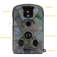 with 8GB SD Card 12MP 720P HD 940nm IR Waterproof Game Camera 2.4inch LED Screen Security Scouting Hunting Trail Camera