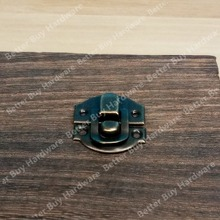 28*27mm Ancient Swing Hasp Jewelry Wooden Box Lock Catch Latches Box Buckle Clasp Hardware Alloy Buckle(China)