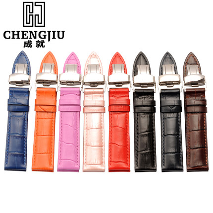 12 13 14 16 17 18 19 20 21 22 mm Watch Wrist Band Watchband Straps Belt For Tissot For Longines For IWC Calf Leather Bracelets<br>