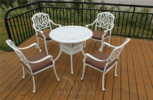 5-piece cast aluminum patio furniture garden furniture Outdoor furniture durable and used for years