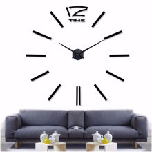 muhsein Home Decoration Big Mirror Wall Clock Modern Design 3D DIY Large Decorative Wall Clocks Watch Wall Unique Gift