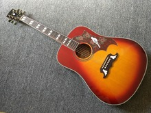Acoustic guitar 41 inches Cherry Sunburst Dove Acoustic Guitar in Stock Free Shipping