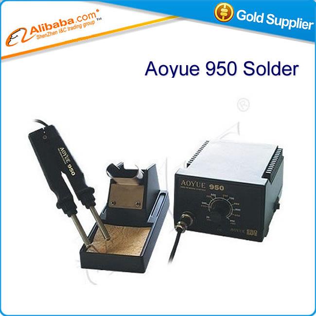 Free shipping soldering machine 220V/110V SMD Hot Tweezer Soldering Station Aoyue 950 touch welding instrument<br><br>Aliexpress