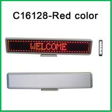 16x96Matrix Led desktop display red color LED dot matrix signs indoor LED moving message display led table screen  indoor