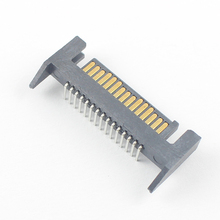 10Pcs Sata Right Angle 15 Pin Male Adapter Connector For Hard Drive HDD