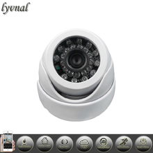 1080P IP Camera Audio function 960P 720P Plastic Indoor Dome Camera Security Network Onvif P2P Safety protection system webcam(China)