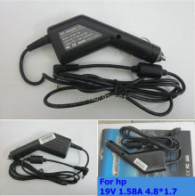 Laptop Car Adapter 30W 19V 1.58A for HP Compaq Mini 700 110  210 1000  4.8*1.7 For HP Mini PC Compaq Car Charger