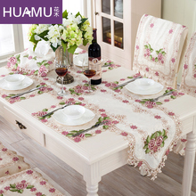 Grade European Top style Table Runner dining table cloth Placemats cushion rustic lace cloth Round Table Mats