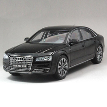 1/18 Audi A8L W12 2014 Diecast Metal Model Car Toy Kyosho Gift Hobby Collection Black Free Shipping(China)