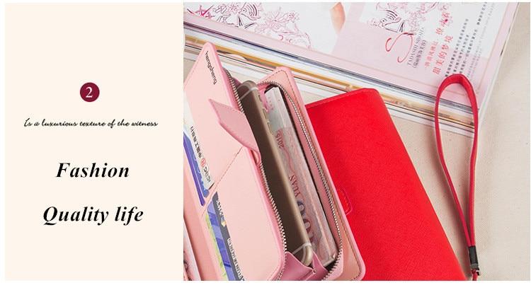 HTB1qDWvSFXXXXcFaXXXq6xXFXXXp - 2018 new fashion women wallet leather brand wallets women wholesale lady purse High capacity clutch bag for women gift