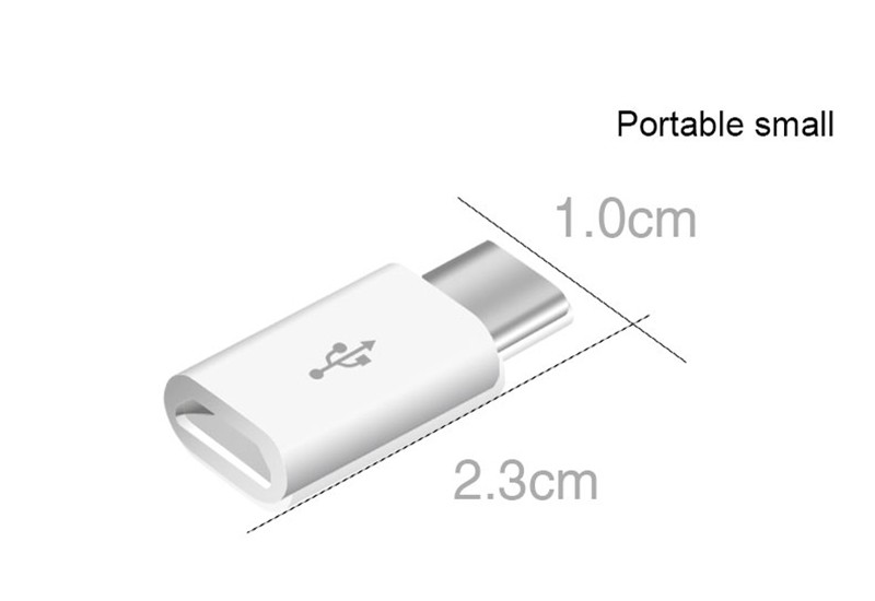 Mini Micro USB female to Type c male Type-C Cable Adapter Charging Data Sync Converter for Samsung Xiaomi 5 Mi 5 oneplus Letv