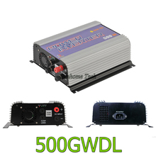 500W Grid Tie Power Inverter for DC10.8-30V or 22-60V Wind Turbine MPPT Pure Sine Wave Inverter with Dump Load resistor(China)