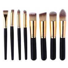 Hot Sale 8pcs/set Beauty Makeup Brush Set Powder Foundation Eyeshadow Eyeliner Facial Cosmetic Pinceis de Maquiagem Brushes kits