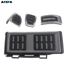 ANENG Car Rest Pedal Foot Fuel Brake Clutch MT Pedals Plate Cover For Volkswagen DZ Golf 7 Passat AD A3 Automatic Transmission(China)