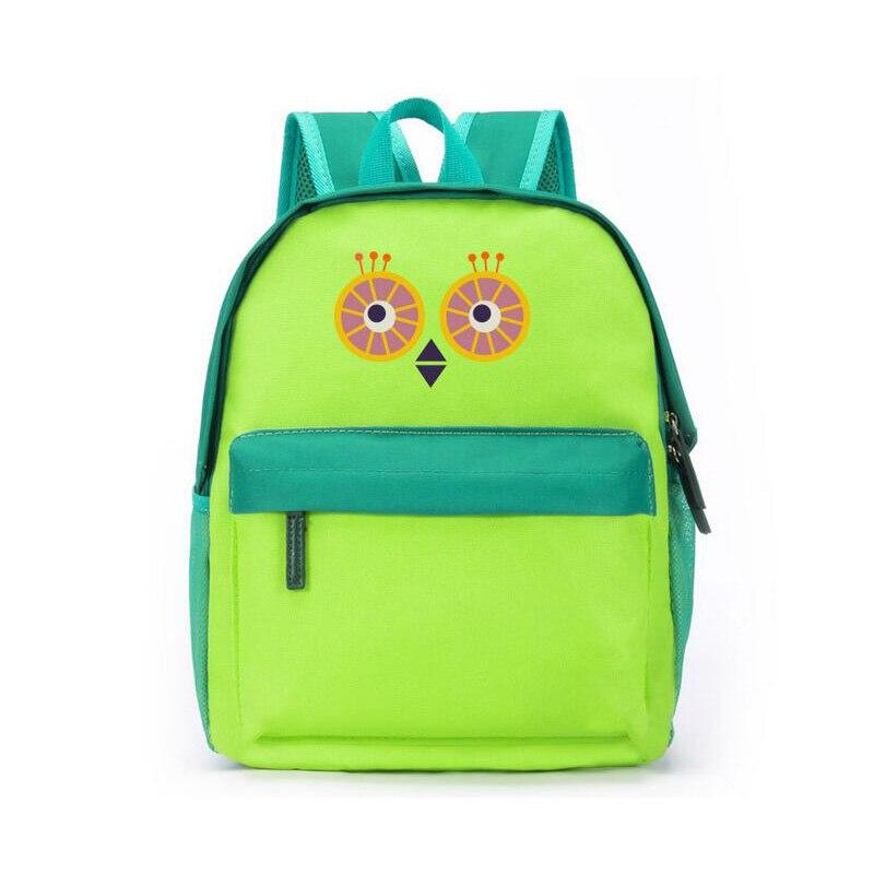 new design cartoon Children Backpack fashion cute student shoulder bags canvas printing Owl Kindergarten kids backpacks<br><br>Aliexpress