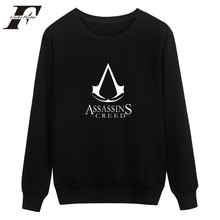 Fashion Assassins Creed Sweatshirt 4XL Women Hoodies Sweatshirts Oversize XXS ASSASSINS CREED Clothes Casual For Young People(China)