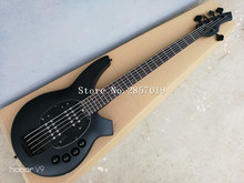 Top Quality black Music Man StingRay 5 strings Electric bass Guitar with initiative to pickups 9V Battery Active Pickup