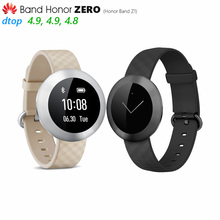 Original Huawei Band Honor Zero Z1 Smart Wristband Touch OLED Screen Sleep Tracker Push Message Refuse Call IP68 Simply Elegant(China)