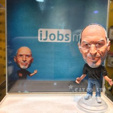 Soccerwe dolls figurine famous technique leader Steve Jobs Movable joints resin model toy action figure dolls collectible gift(China)