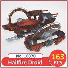 BELA Building Blocks 10370 Model Star Wars Figures Hailfire Droid 75085 Compatible Lepin Legoed Figure Toys For Children