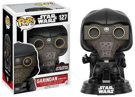 2017 Galactic Convention Exclusive Funko pop Original Star Wars - Garindan (empire spy) Vinyl Figure Collectible Model Toy<br>