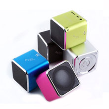 mini portable wireless FM Transmitter Receiver bass sound beetle speaker Original Music Angel JH-MD07U wholesale manufactuer
