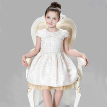ChildDkivy 3-12 Years Autumn Toddler Girl Lace Girl Princess Dress For Kids Party Dresses Christmas Dress for Baby Girls Clothes(China)