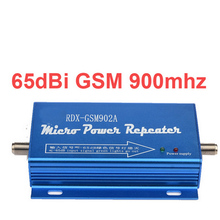 For Russia gain 65dbi 960 easy use model GSM repeater GSM booster 20dbm power phone booster repeater GSM 900mhz repeater booster