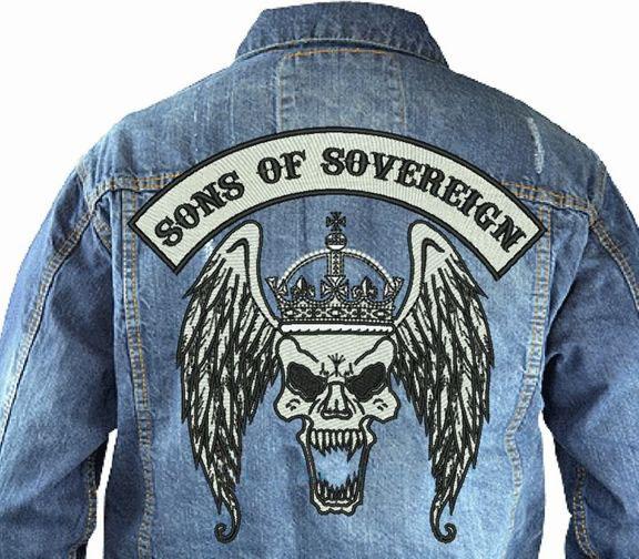 Denim-Jacket-mc-motorcycleclub-centerpatch-top-rocker-Large-patch-back-patch-Jackets-patch-Vest-patch