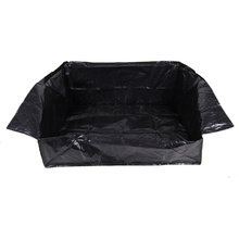 PE Tarpaulin Car Trunk Mat Liner Waterproof Car Protection Blanket For more cleanliness in your car(China)
