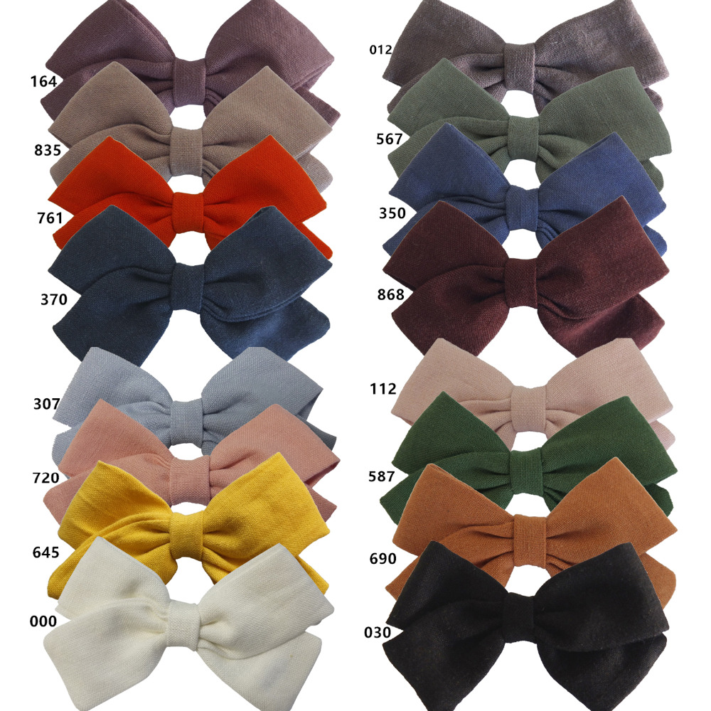fabric bow 16 colors