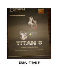 Hot Christmas gift DUNU/TOPSONIC TITAN 5 TITAN5 Dynamic TITAN-5 IEMs Inner-Ear Earphones Latest Products New(China)